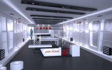 男装店铺空间设计3D模型