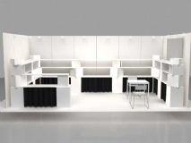 展柜,展场3D模型