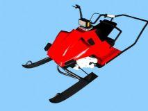 雪地摩托,滑雪机器
