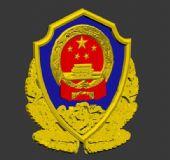 警徽3D模型
