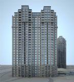 欧式住宅 高层住宅楼,商品房3D模型