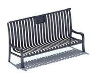 座椅 长条椅3D模型