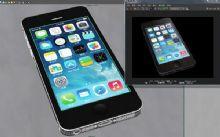 超精细iphone5手机模型黑,土豪金随你选,各种格式软件互通