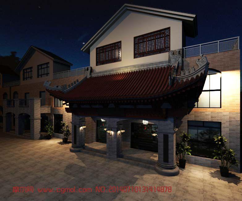 2 440  关键词:中式建筑茶楼门头古代复古 作品描述:中式 建筑  茶楼图片