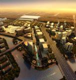 杭州火车站规划素模
