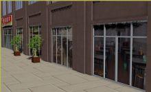 农贸市场,街道商铺场景3D模型