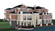 欧式别墅skp模型