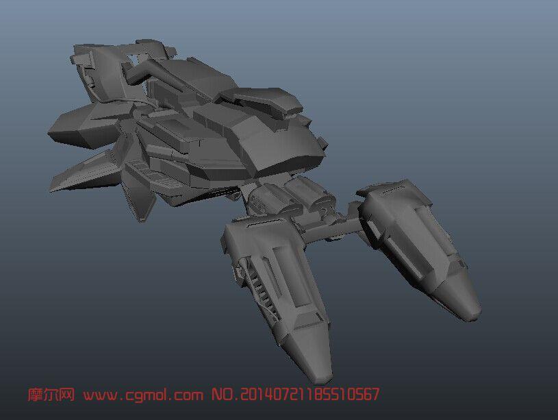 关键词:飞船战舰 作品描述:小型战斗飞船, 上一个作品:  &