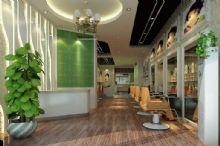 时尚发廊 美发厅,美容美发店3D模型