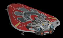 蜂针号飞船3D模型