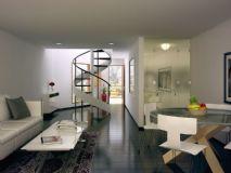 小户型客厅3D模型