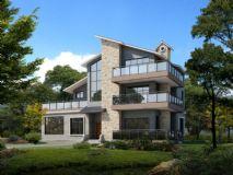 别墅 单体别墅3D模型
