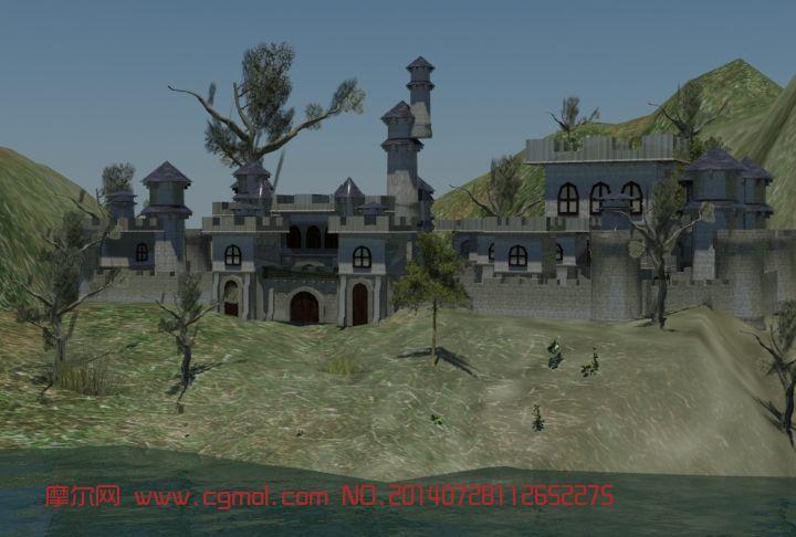 小房子 古代游戏建筑