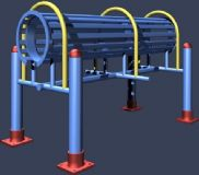 体育器材 健身器材3D模型
