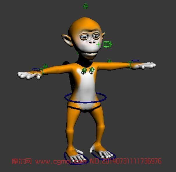 猴子太空泥作品步骤图片大全