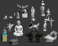 常用雕塑模型