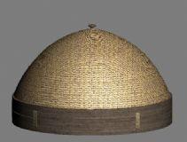 竹编菜罩3D模型