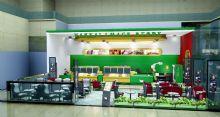 甜品店,形象店,店铺3D模型