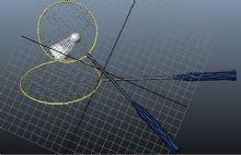 羽毛球和球拍3D模型