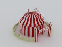 马戏团表演的帐篷