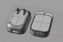 电源适配器3D模型