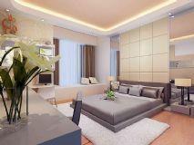 现代精装卧室3D模型