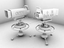 摄像机3D模型,演播室专用