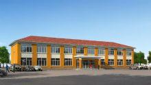 二层小办公楼3D模型
