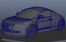 奥迪TT maya模型