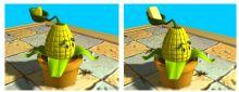 玉米投手3D模型