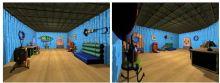 菠萝屋客厅3D模型 海绵宝宝房间