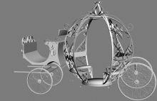 公主花车3D模型