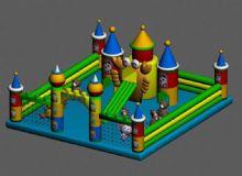 充气城堡3D模型