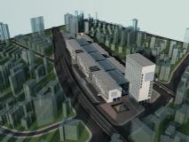 城市鸟瞰 城市建设