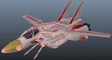 太空堡垒 战斗机变形机器战士