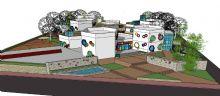 六班制幼儿园 蜂巢建筑设计