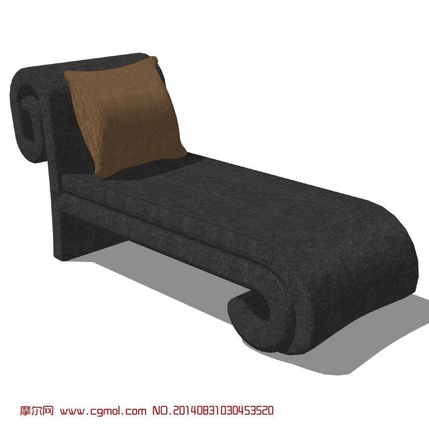 贵妃椅 单人床