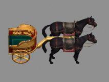 黄金马车3D模型