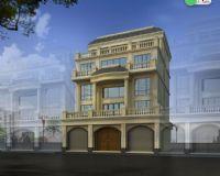 自建房外观建筑 欧式别墅