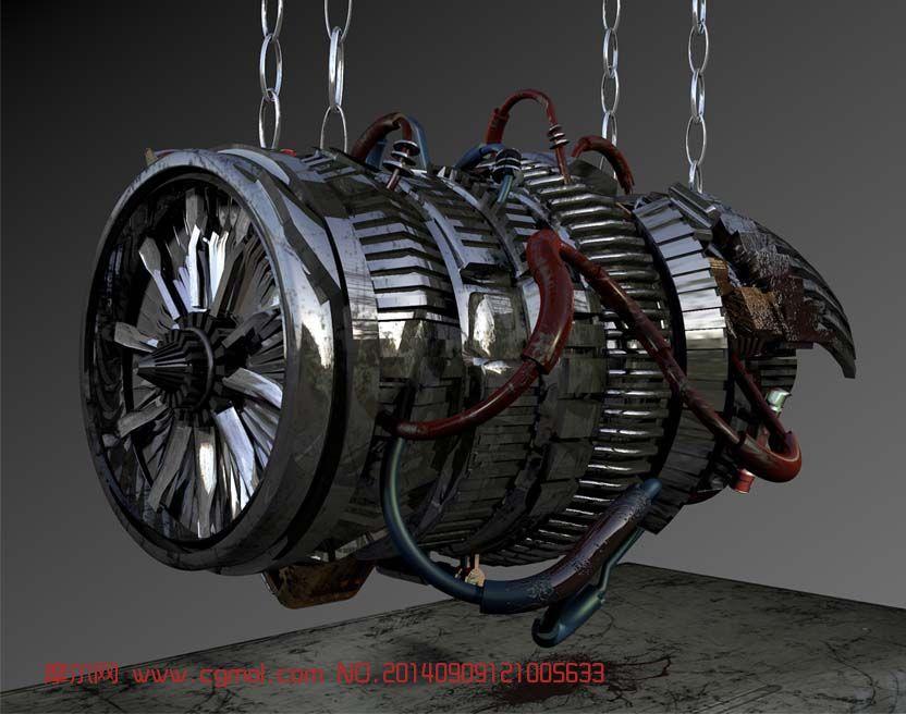 飞机涡轮发动机 > 涡轮发动机工作原理