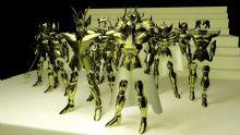 圣斗士-�S金圣衣 第一批 maya模型