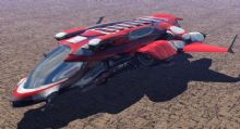 精致的小飞船3D模型