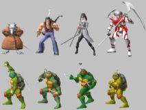 忍者神龟 游戏角色