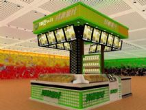 果汁饮品店,甜品店3D模型