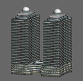 双子塔 建筑