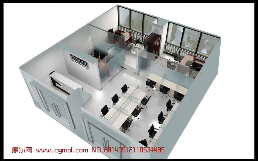 办公室,简单大气的办公空间