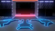 大型舞台设计maya模型