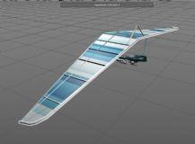 可推进式滑翔伞