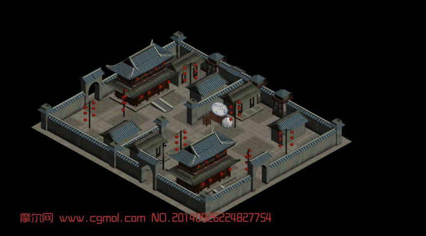 古代市场,古代游戏场景