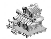 竹子建的房子